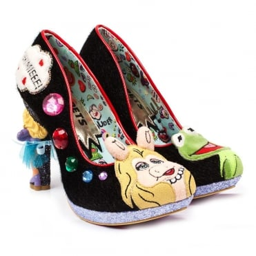 Irregular Choice The Muppets Super Couple 4417-01A Character Heels - Black