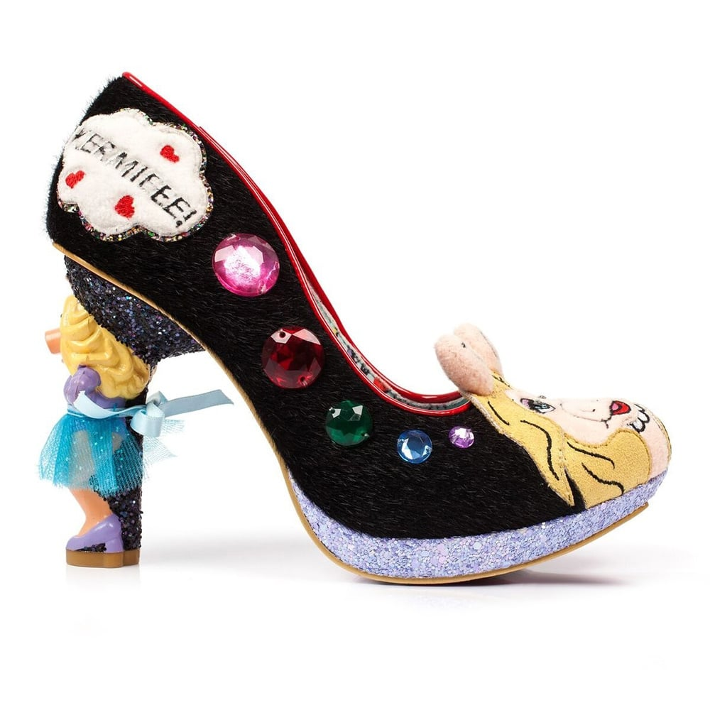Irregular Choice The Muppets Super Couple 4417-01A Character Heels - Black