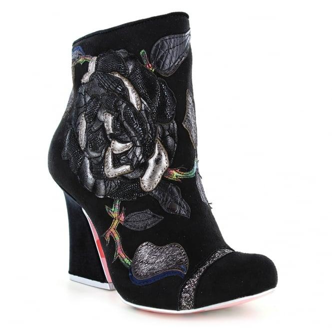 irregular choice theodore 4351 03b womens ankle boots black