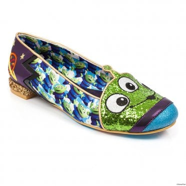 Irregular Choice Toy Story Eternally Grateful 4329-42 Womens Character Shoes - Green Multi