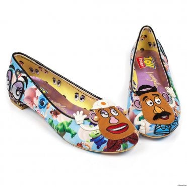 Irregular Choice Toy Story Keep Em Together 4329-44 Womens Character Shoes - Blue Multi