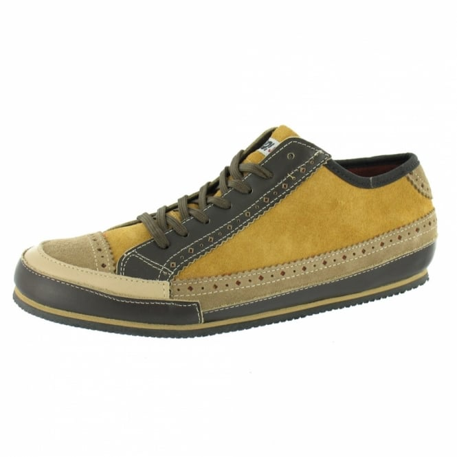 Yo Japan Toyo Shoe Mens Suede Trainers Brown