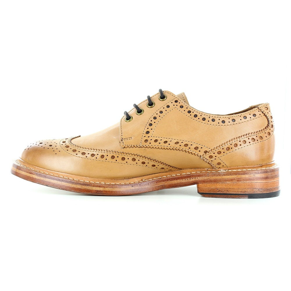 justin reece stan mens leather brogue shoes