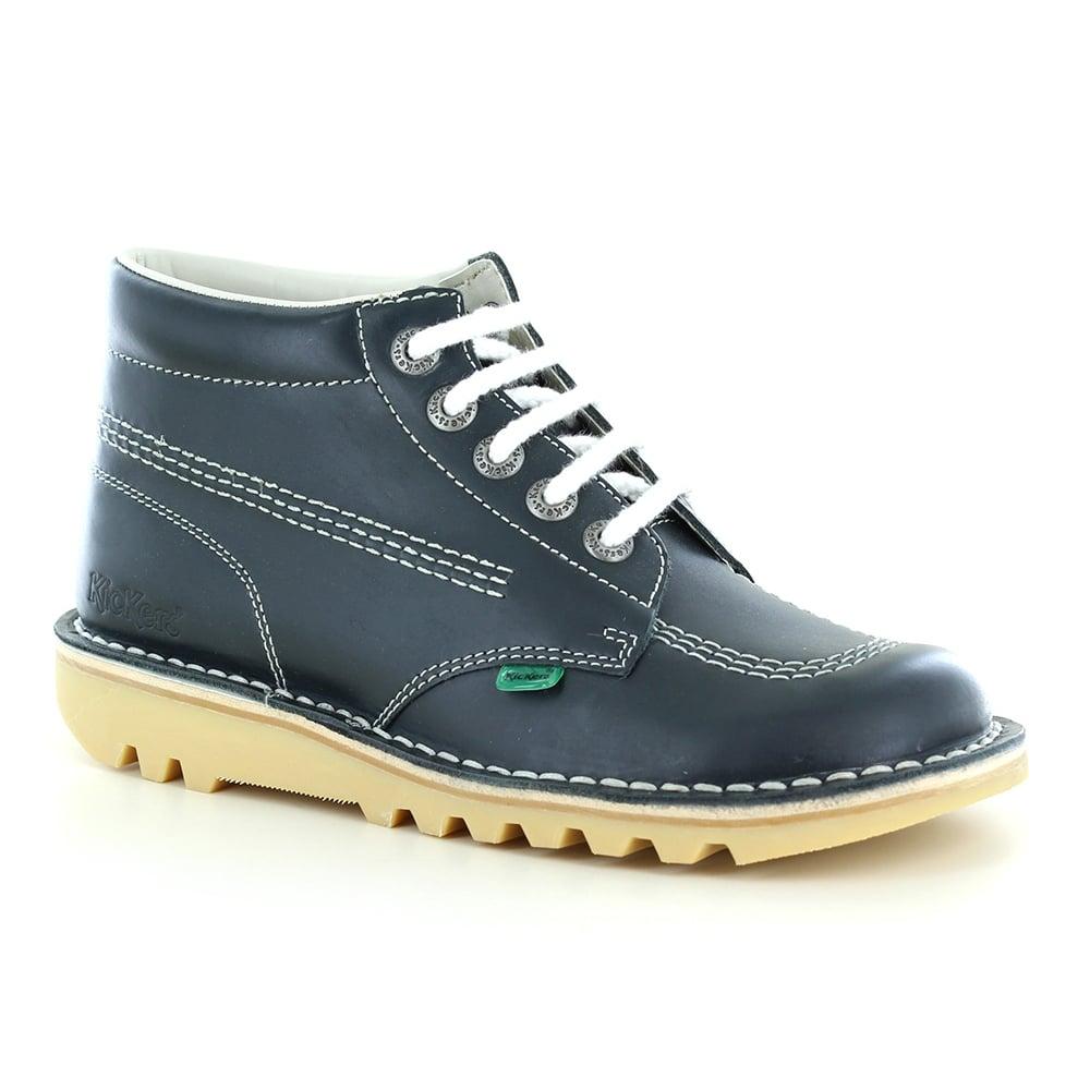 b9672922e2 Kickers Kick Hi Classic Unisex 5-Eyelet Boots - Navy Blue
