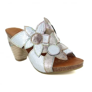 Laura Vita Dax 11 SL235-11 Womens Leather Sandals - White