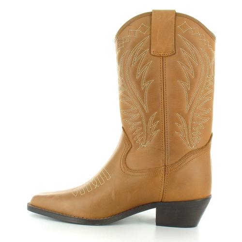 loblan loblan 10568 womens leather mid calf cowboy western