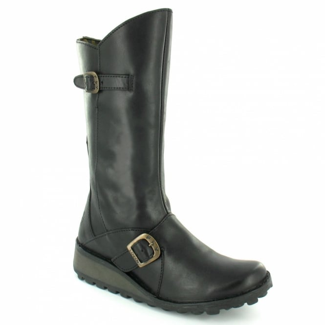 fly fly mes womens leather mid calf zip