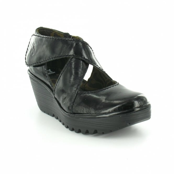 Fly London Yogo Womens Patent Leather