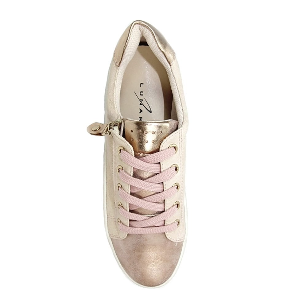 Lunar Dahl Womens Fashion Trainers - Pink