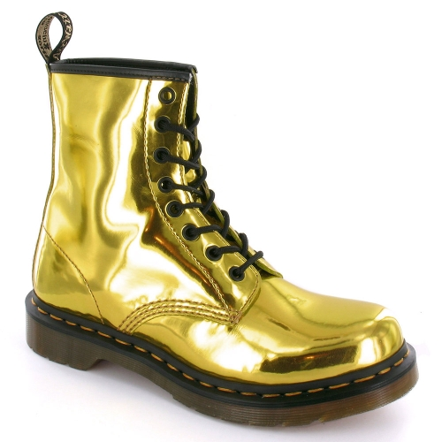 dr martens 1460 womens koram flash metallic ankle boots hot gold womens from scorpio shoes uk. Black Bedroom Furniture Sets. Home Design Ideas
