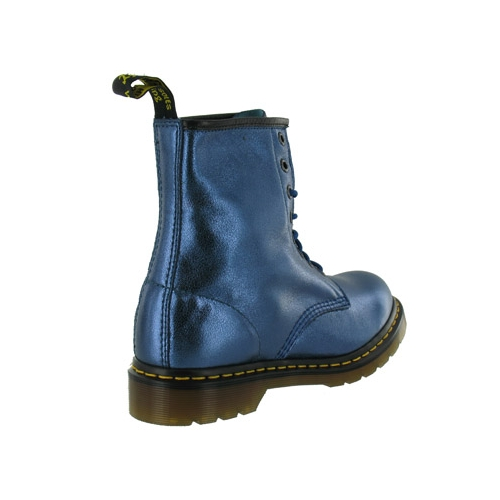 Dr Martens Dr Martens 1460 Womens Leather Ankle Boots - Blue - Dr ...
