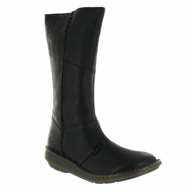 46b5e178ec86 Dr Martens 3A63 Wedge Zip Boots - Black - Mid-calf Boots from ...