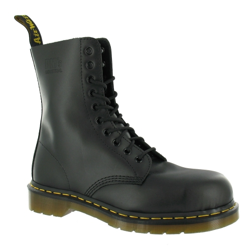 Dr Martens 7a18z Safety Boots Black Mens From Scorpio