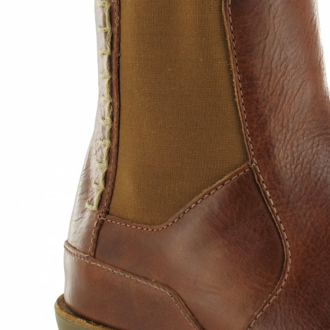 f4a60d2223f Dr Martens Dr Martens Athena Womens Leather Chelsea Boots - Tan Brown