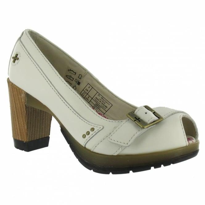 Dr martens diva latoya womens leather high heels winter white womens from scorpio shoes uk - Dr martens diva ...