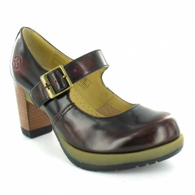 Dr martens diva marlena womens leather high heel shoes cherry red high heels from scorpio - Dr martens diva ...