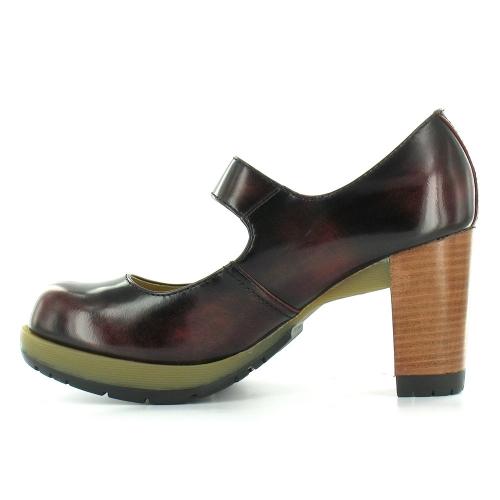 Dr martens dr martens diva marlena womens leather high heel shoes cherry red dr martens from - Dr martens diva ...