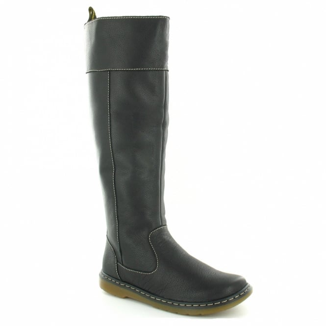 dc1f9a0b992 Elate Haley Womens Leather Tall Boots - Black