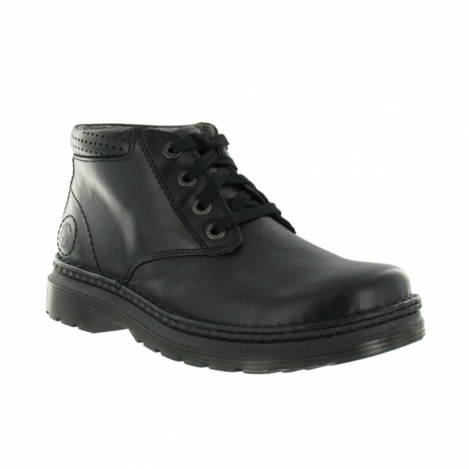 530bd6c6b9d Dr Martens Griffin Mens Leather Ankle Boots - Black - Casual Boots ...