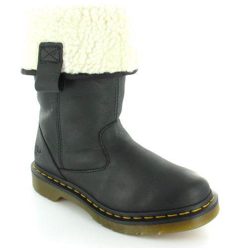 Dr Martens Dr Martens Jenny Womens Leather Pull On Mid