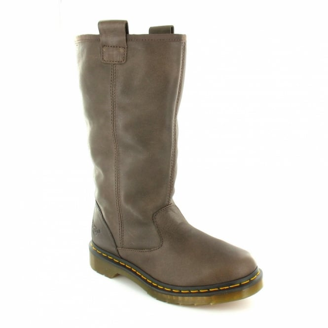 Dr Martens Jenny Womens Leather Pull-On