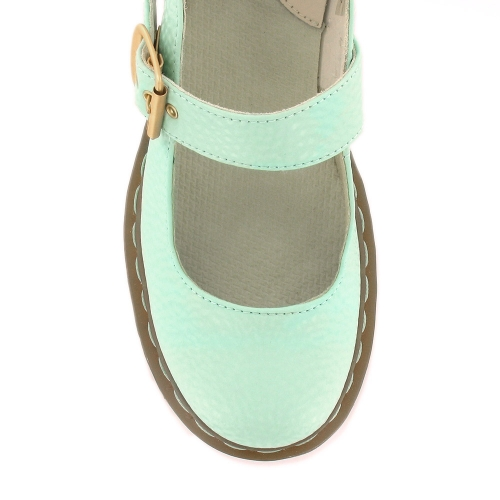 Dr Martens Dr Martens Mary Qq Pearl Womens Mary Jane Shoes Mint Green Dr Martens