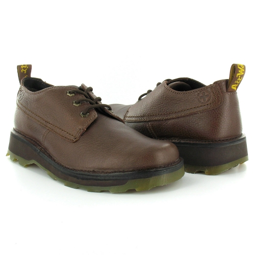 dr martens ned mens melody leather lace up casual shoes