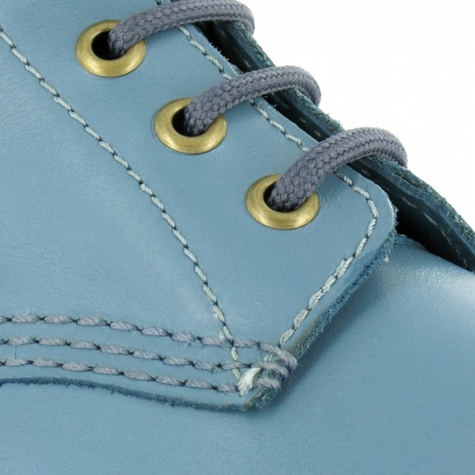 4364e97230a Pascal Womens Soft Leather 8-Eyelet Boots - Faded Demin Blue