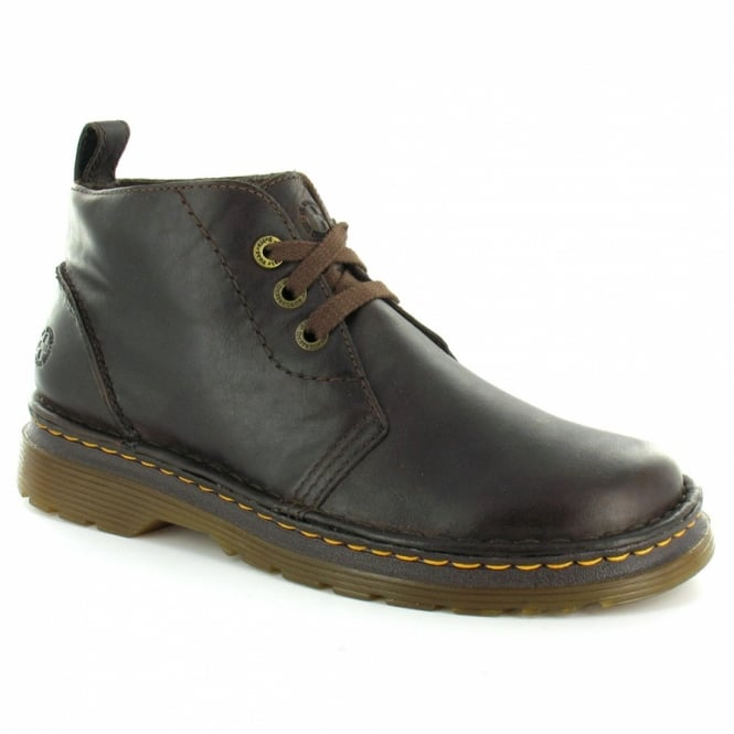 838a1db5319e0 Dr Martens Reed Mens Chukka Boot - Dark Brown - Casual Boots from ...