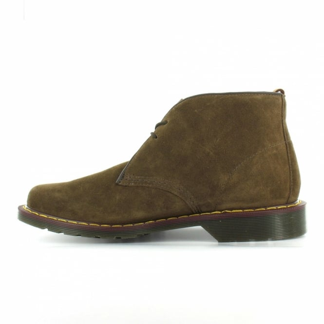 d8719919025 Sawyer Mens Hi Suede Oscar Chukka Desert Ankle Boots - Golden Brown