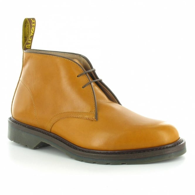 6f6380a5ab39b Dr Martens Sovereign Sawyer Mens Leather Desert Boots - Tan Brown ...