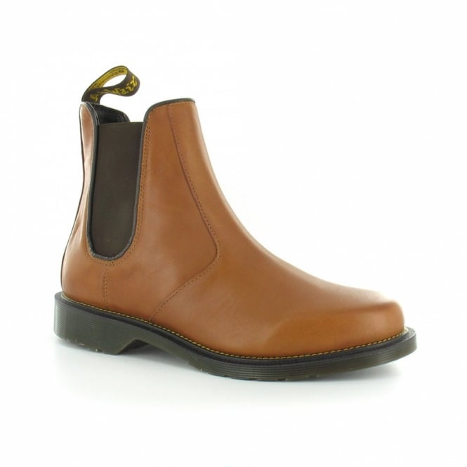 868754ae3be Victor Mens Leather Chelsea Boots - Tan Brown