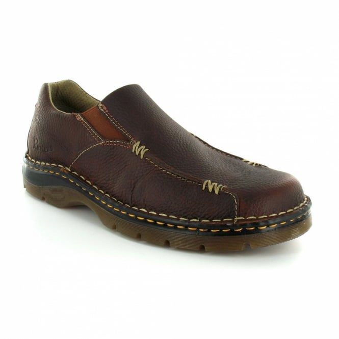 dr martens dr martens zack mens grained leather slip on