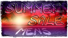 Mens Summer Sale 2014