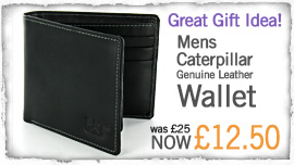 CAT Wallet Half Price!
