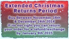 Extended Christmas Returns Period