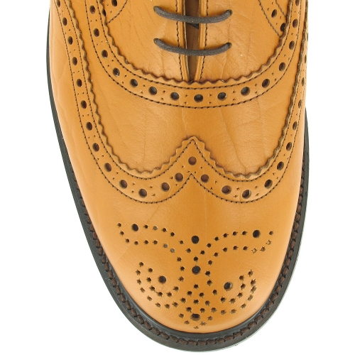 Nps Ls811t Mens Leather 5 Eyelet Traditional Wing Tip