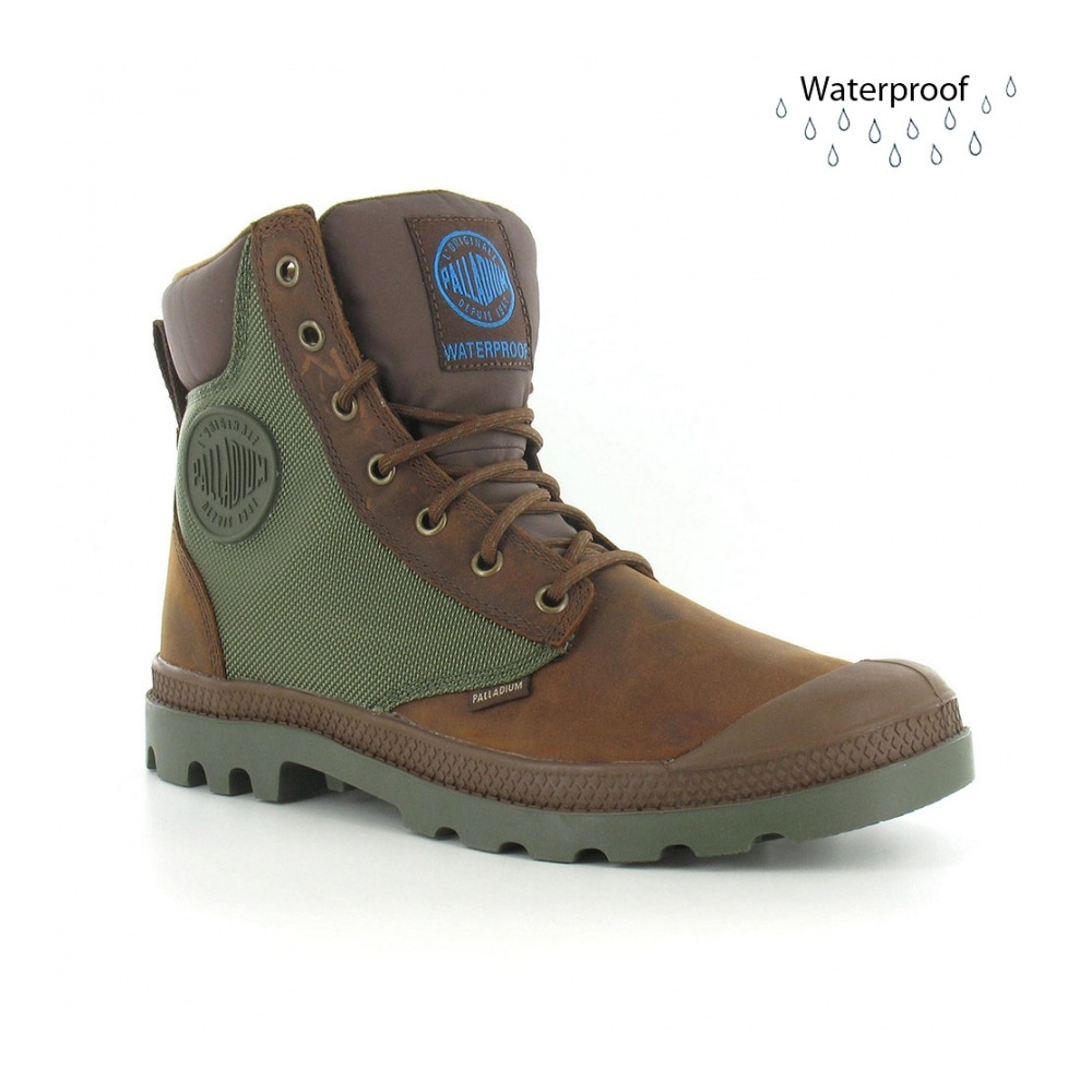 Palladium Palladium Pampa Sports Cuff WP2 Mens Waterproof Ankle Boots ...