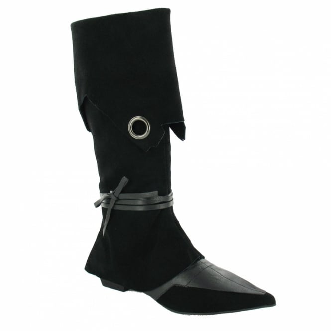 670b4a53a0a14 Roberto Botella M3819 Pirate Boots - Black - Low Heels from Scorpio ...