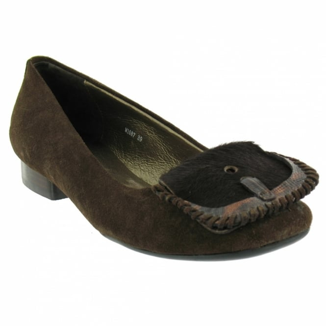 c204cd177f0f0 Roberto Botella M3887 Flat Shoes - Chocolate - Low Heels from ...