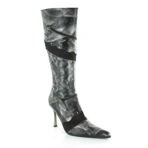 new rock malicia m9084 womens knee high stiletto heel