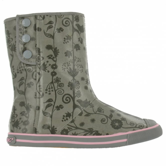 Boots - Smoke Grey - Mid-calf Boots