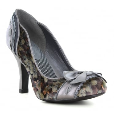 Ruby Shoo Amy Womens Court Shoes - Pewter