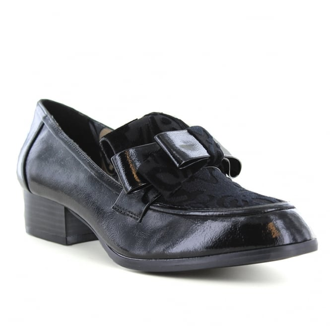 Ruby Shoo Gabriella Womens Low Heel Shoes - Black