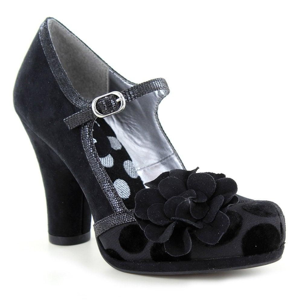 02817d92f9 Ruby Shoo Hannah Womens Bar Shoes - Black