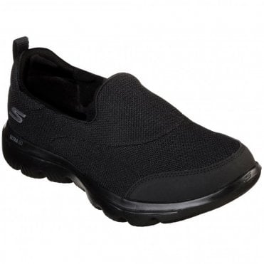 7188d7c53a93 Skechers Go Walk Evolution Ultra Reach Womens Slip-On Shoes - Black