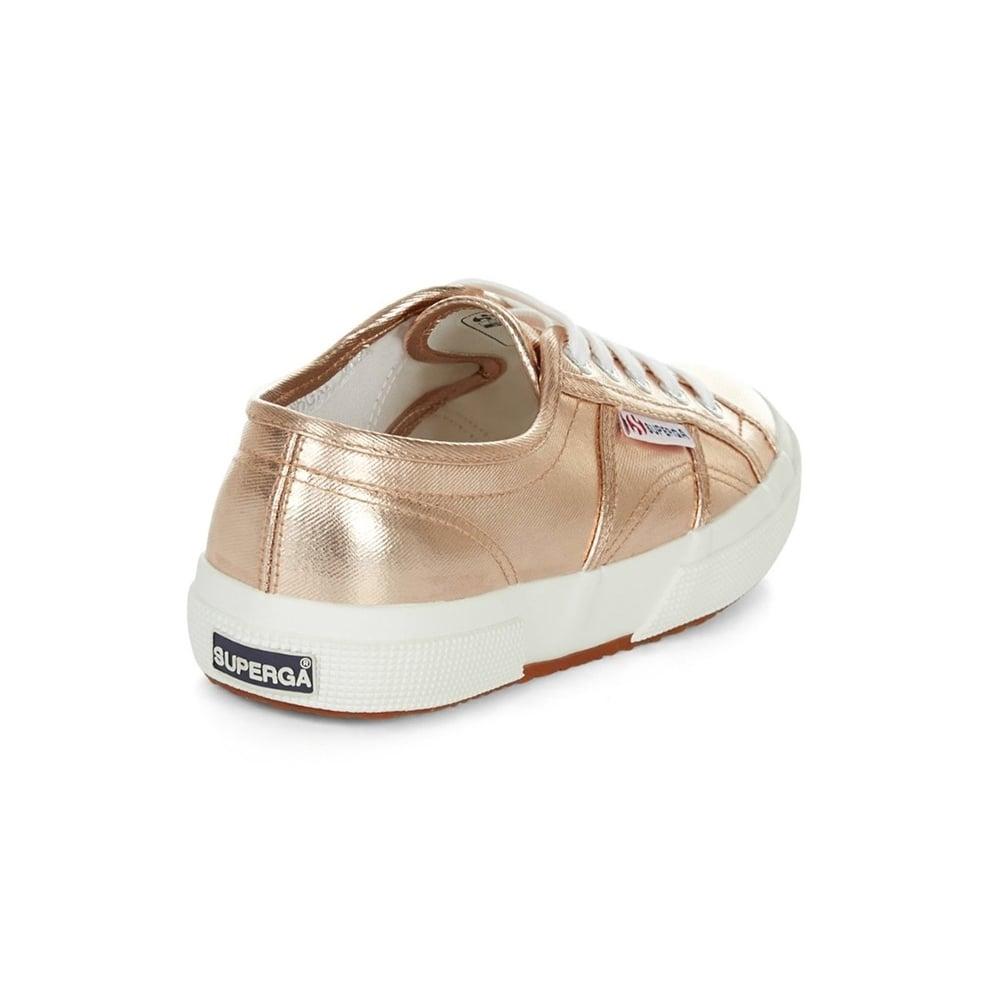 883c09b1477b Superga 2750 Cotmetu Womens Fashion Trainers - Rose Gold