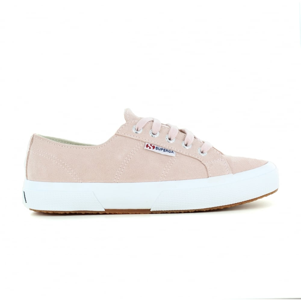 83529022b14 Superga Suede Womens Fashion Trainers - Pink Skin