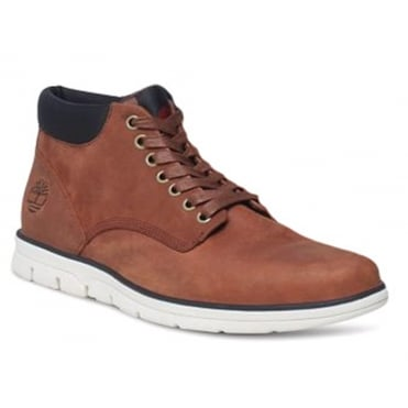 Timberland A13EE Mens Padded Collar Chukka Boots - Brown