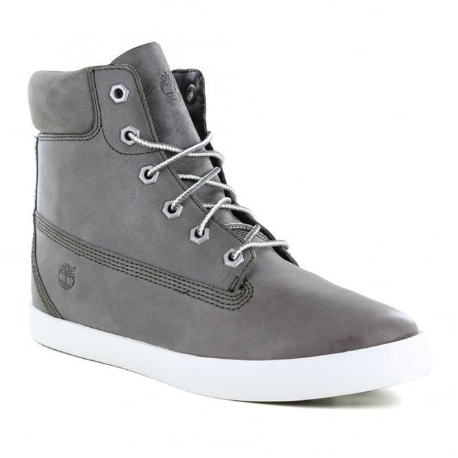 Timberland ® A179Z Womens Padded Collar 6-Eyelet Internal Wedge Boots - Slush Grey